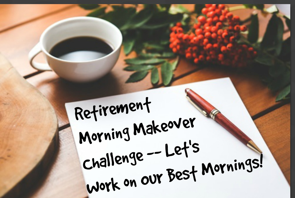 Retirement Makeover Challenge -- it's free