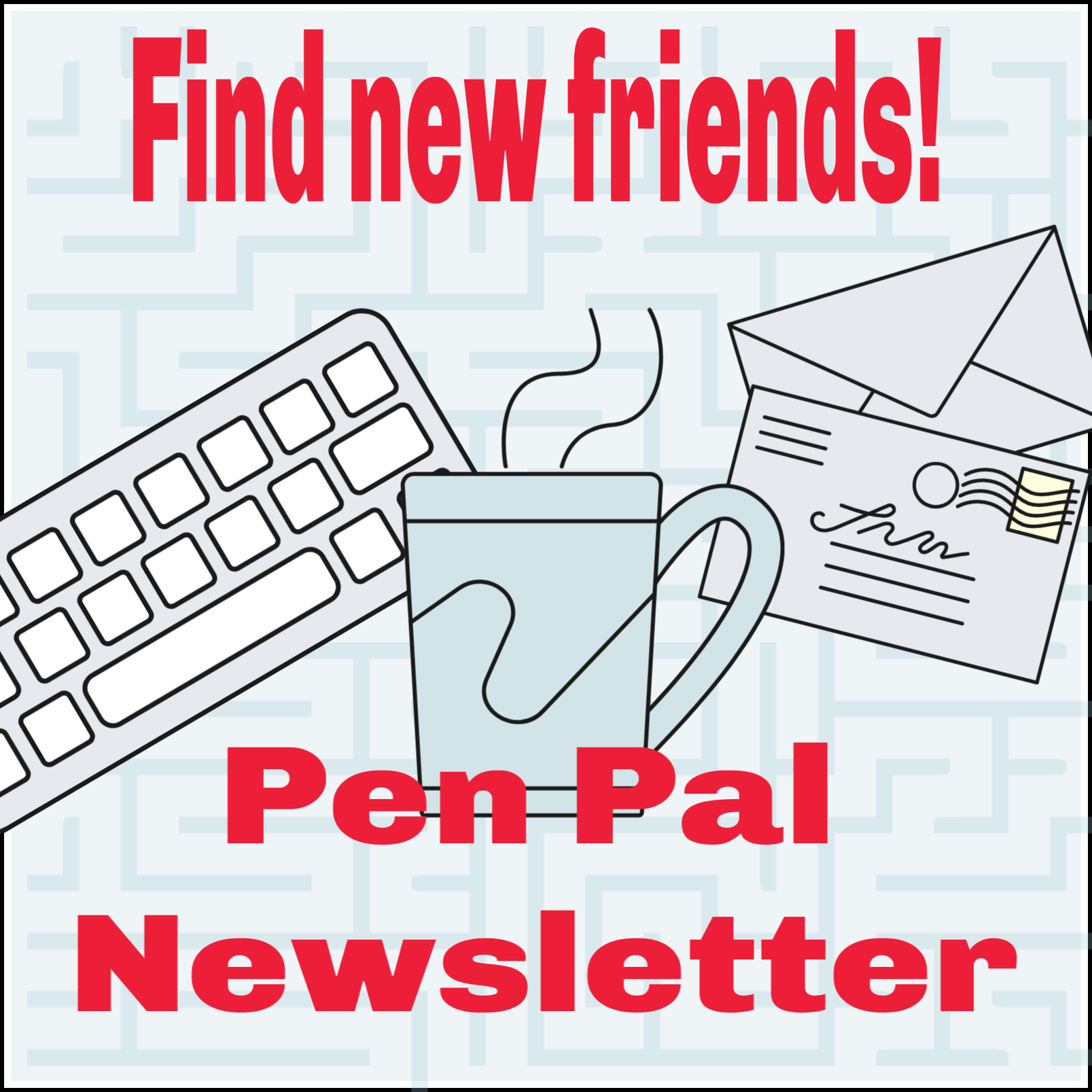 Retirement-Online com's Senior Pen Pal Quarterly