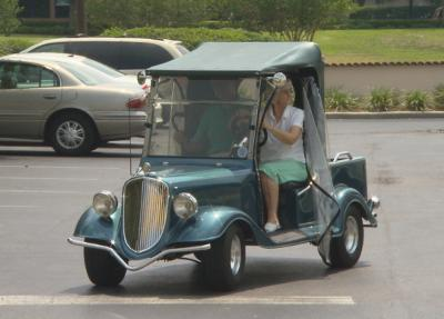 Custom Golf Cart... too cool!