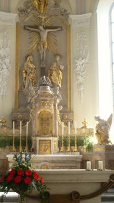Church in Waldshut, Germany