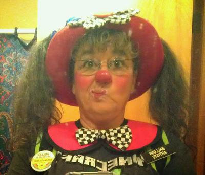 Deb is a Professional Clown!