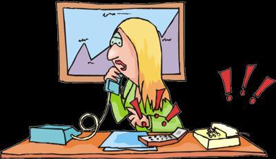 Banish Work Stress.. Find a Good Job!