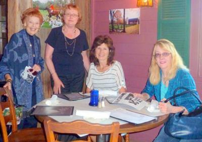 Retirement Friends: Phyllis, Donna, Karen & Wendy