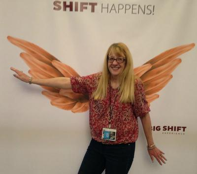 Wendy, at the Big Shift Experience!