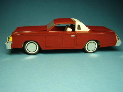 1979 Dodge Magnum coupe.